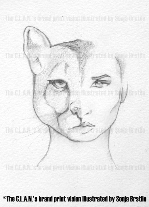 Animal human print for Clan Store